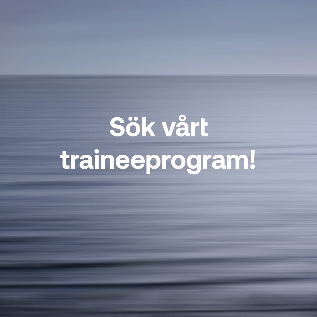 Stiftelsen startar traineeprogram