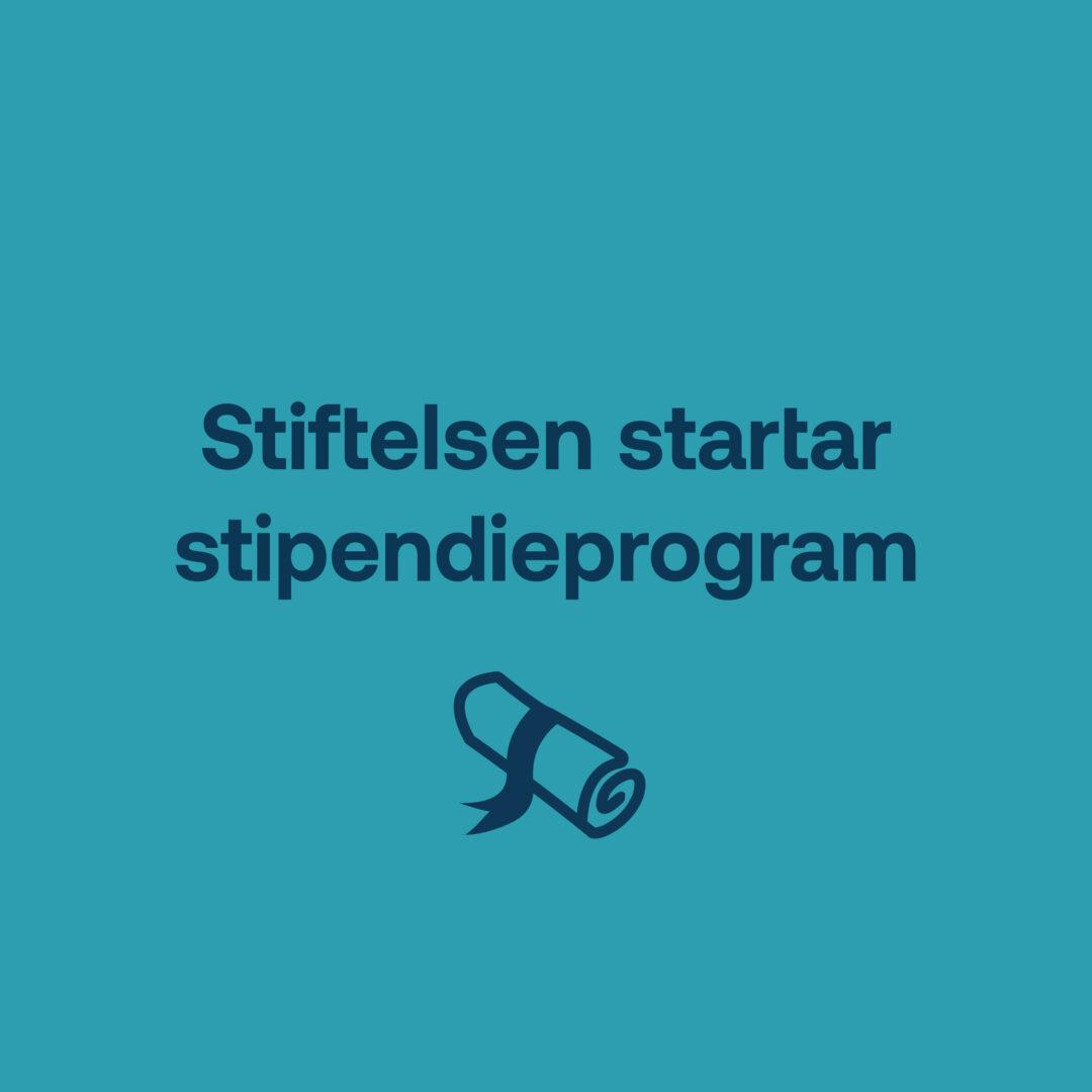 Stipendieprogram för forskare i början av karriären